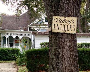 Nancy's Antiques in Brenham