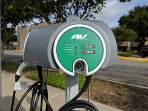 Charging Your Electric Car in Brenham