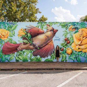 downtown brenham mural