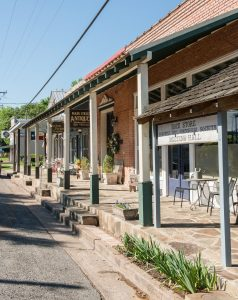Downtown Chappell Hill stores