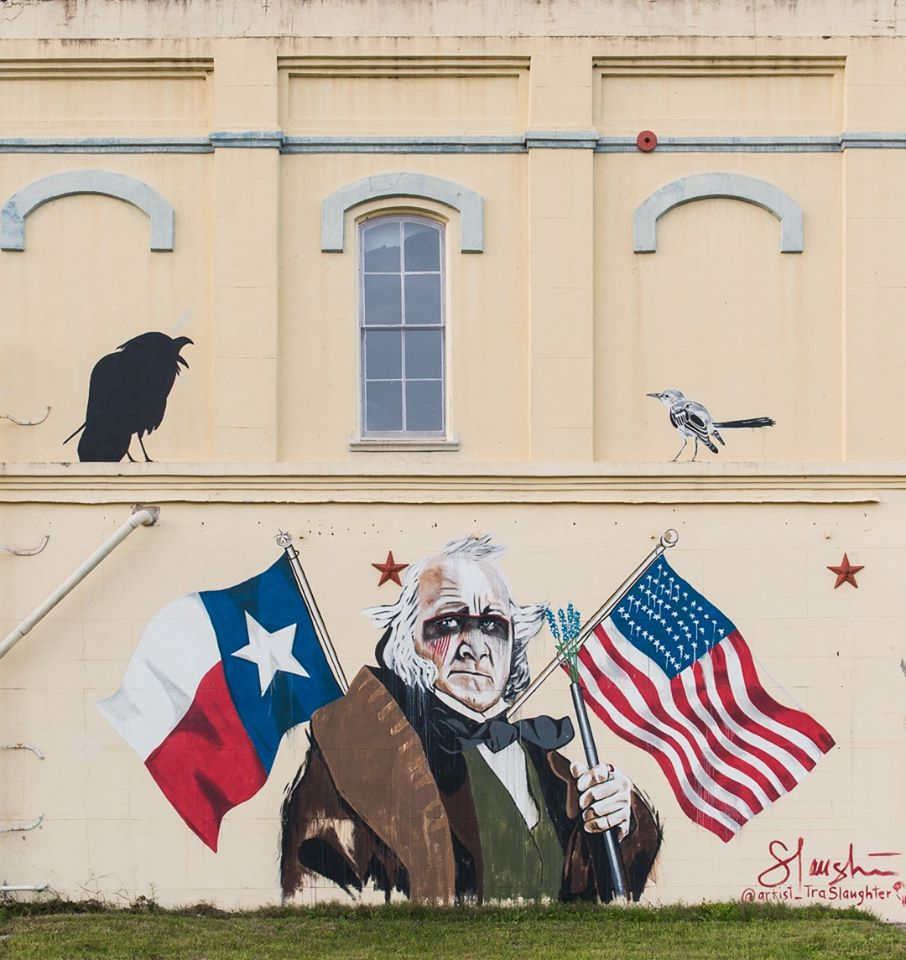 Sam Houston Mural