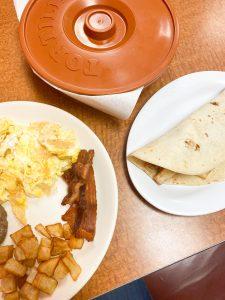 migas and breakfast taco