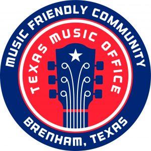 Texas Music Friendly Logo Brenham