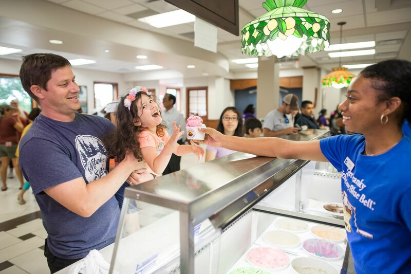 5 Places in Brenham to Get a Scoop of Blue Bell Ice Cream